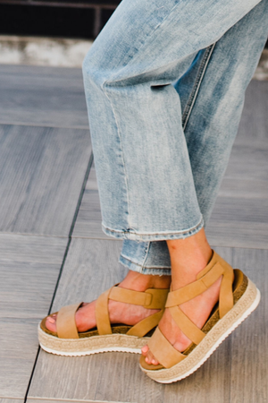Rainey Platform Sandal