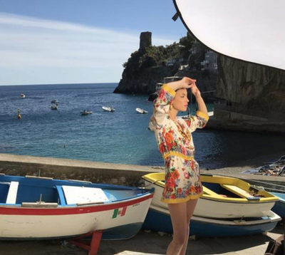 Shoot Location- Positano