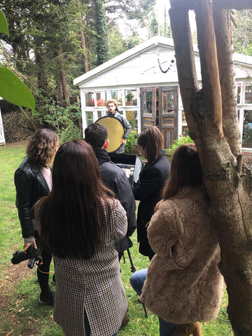 Soru Jewellery Photo shoot behind the scenes at bromley House