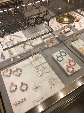 Soru jewellery in the Fenwick Bond Street store