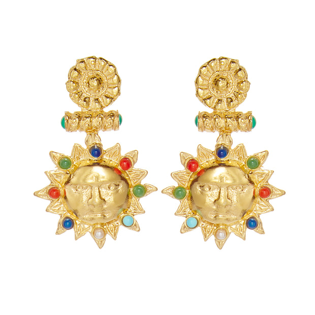 Treasures Sun Earrings