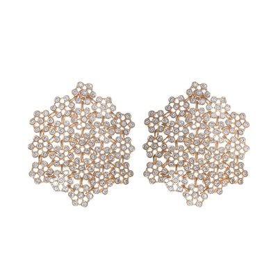 Soru jewellery marianna earrings, siciliana crystal earrings