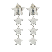 the fashion bug blog x soru luna star clip on earrings, pearl star earrings