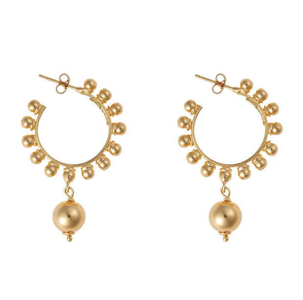 soru gold hoop earrings Sorrento