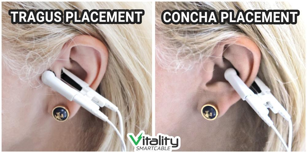 Vitality Smartcable® Ear Clips COMBO (Set of 2)