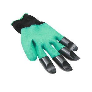 Rubber Garden Gloves with Claws