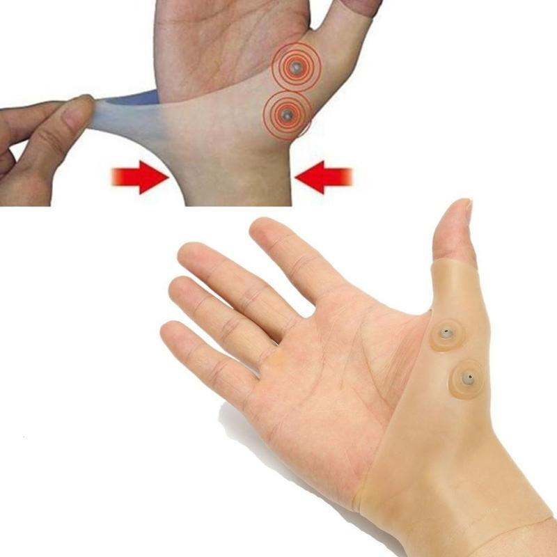 Magnetic Therapy Wrist Hand Thumb Support Gloves