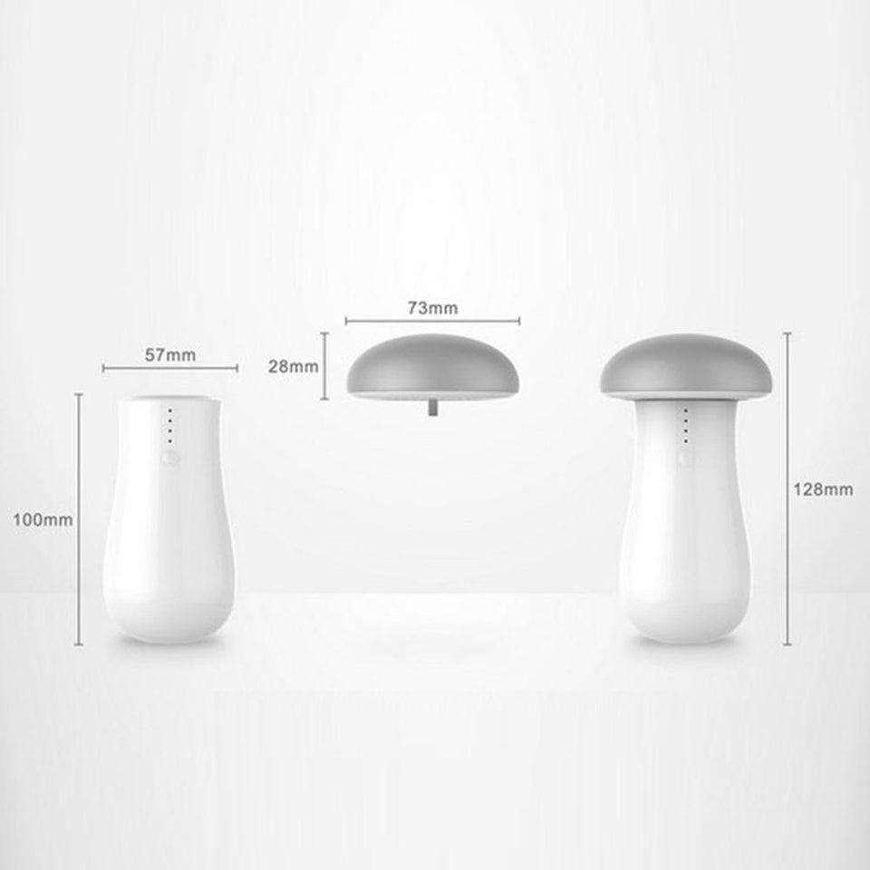 USB Charger Mushroom with Light