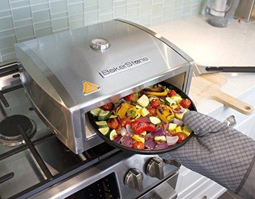 BakerStone Pizza Box - Stainless Steel Gas Stove Top Oven
