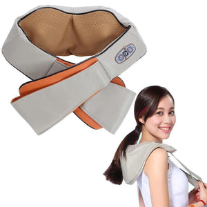 Electric Shiatsu Back Neck and Shoulder Massager with Heat