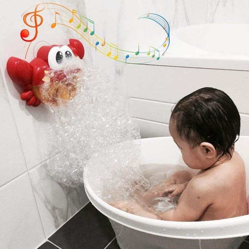Musical Crab Bubble Bath Machine