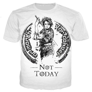 Not Today Arya Stark Tee