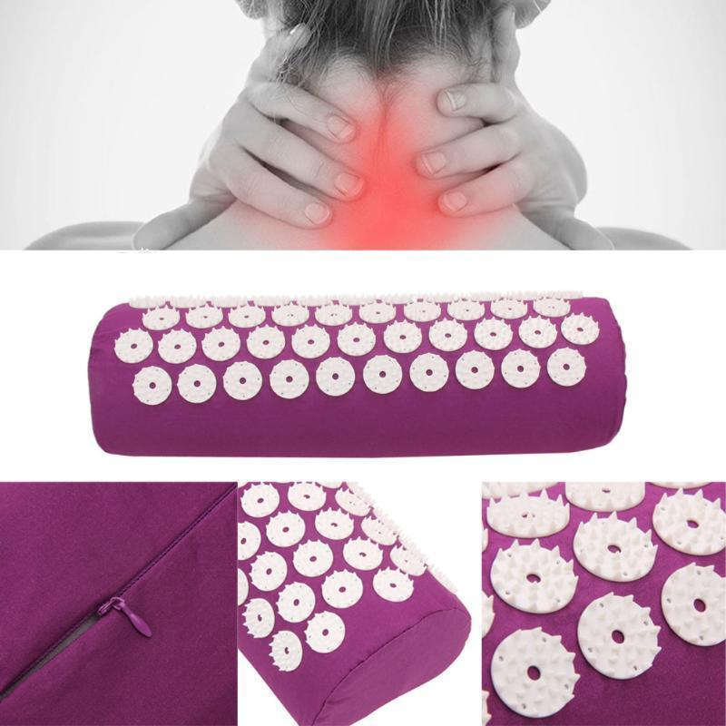 Acupressure Yoga Mat Massager For Body Pain Stress Relief