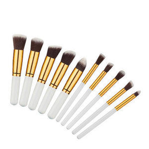 Profesional Make Up Set 10 Brushes
