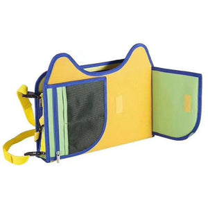 Multi-functional 4 in 1 Kids Travel Tray