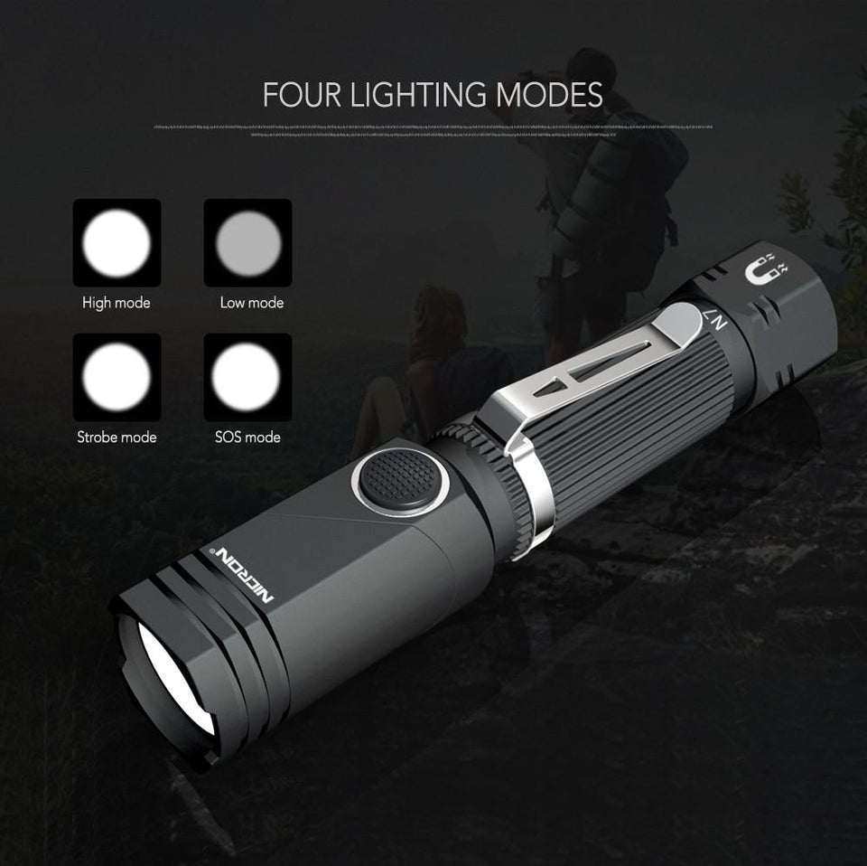 Hands-Free LED Flashlight