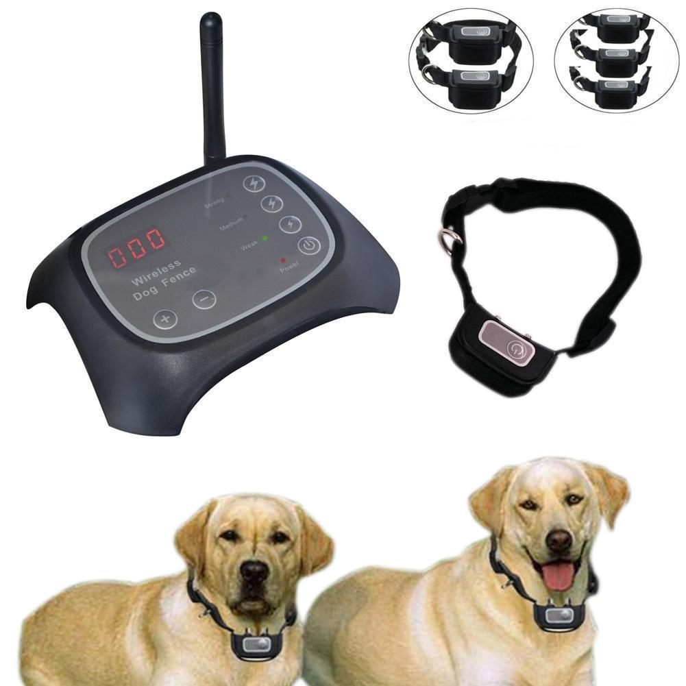 Wireless Dog Fence Containment Transmitter Training Collar