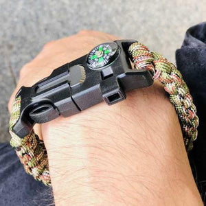 Outdoor Camping Survival Bracelet
