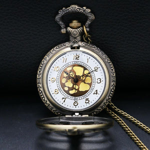 Steampunk Bone Pocket Watch