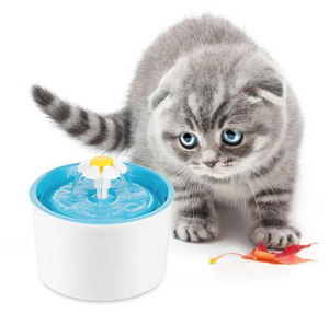 1.6L Pet Fountain Water Feeder