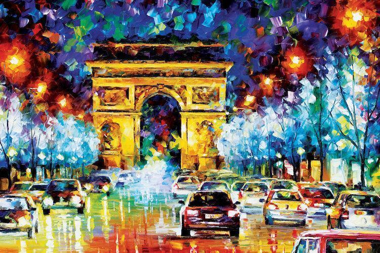 French Scenes - Van-Go Paint-By-Number Kit