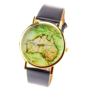 Australia Map Watch - Free Shipping!