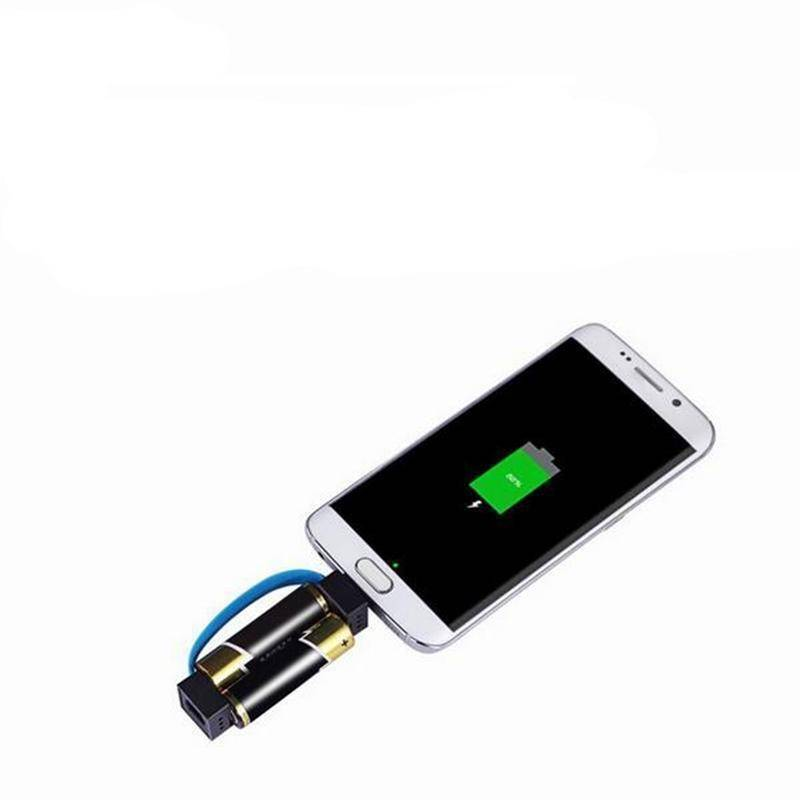 AA/AAA Battery Emergency Cellphone Charger
