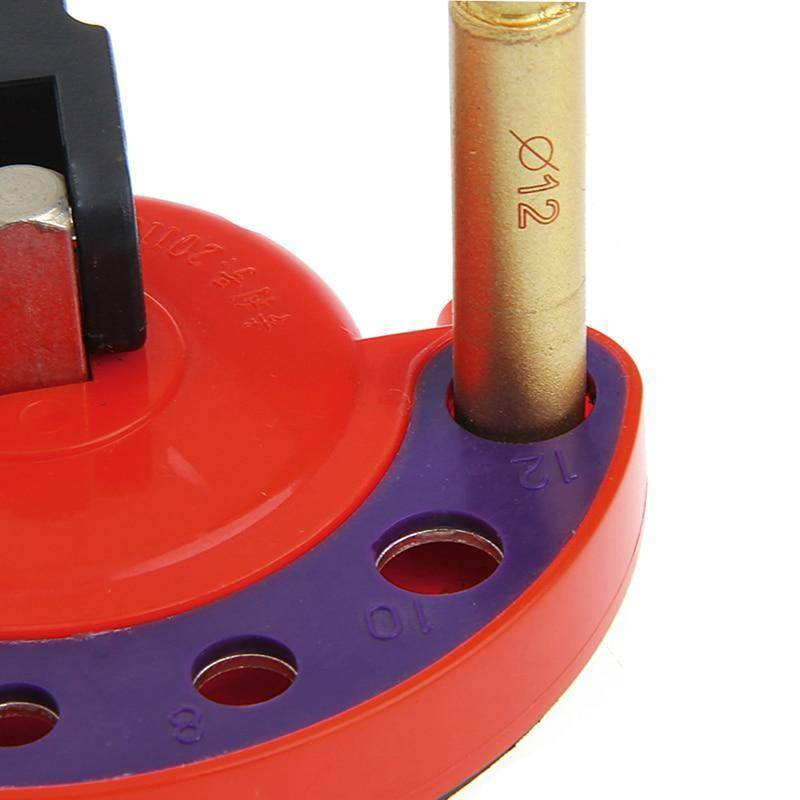 Adjustable Hole Saw Drill Guide Locator