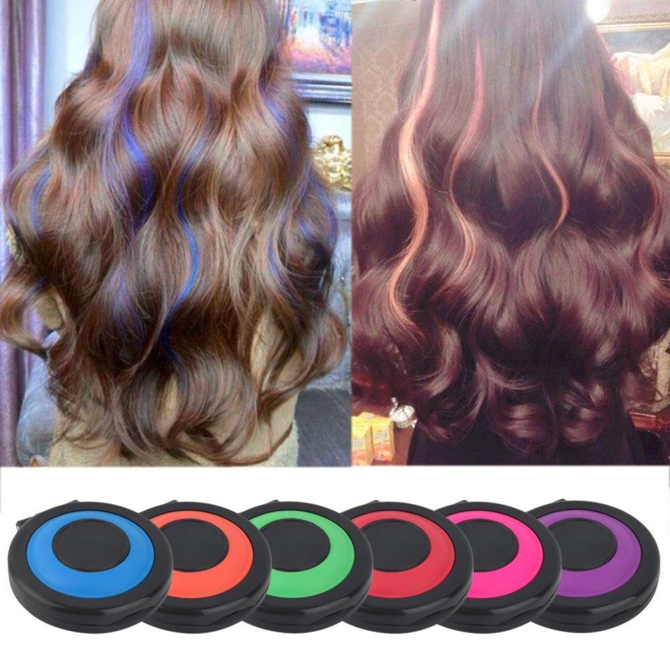 Clip Chalk - Professional Fast Temporary Hair Color!