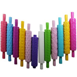 Colored 3D Pattern Rolling Pin