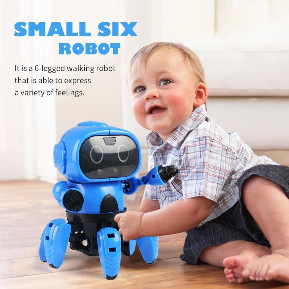 Interactive Gesture Recognising Robot Toy For Toddlers