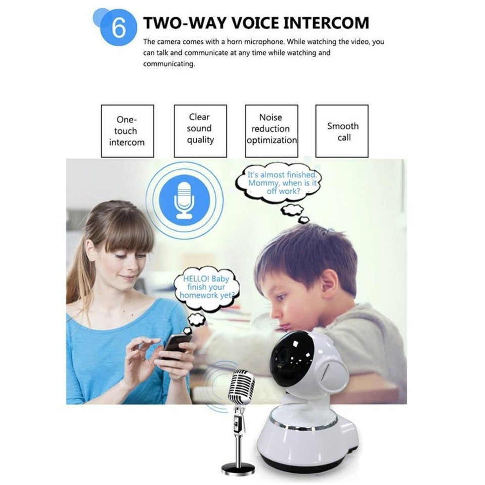 WIFI IP HD Security Camera