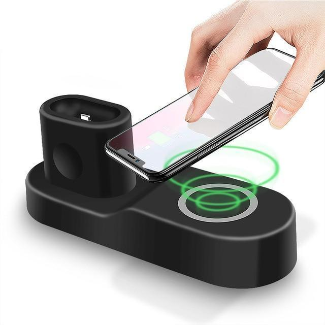 iPhone/Apple Watch Wireless Charger and Airpods Charger-3 in 1 Charger