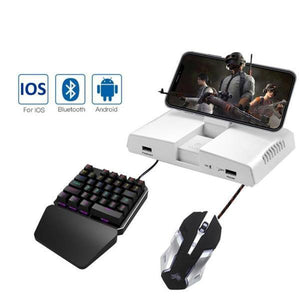 PUBG Mobile Bluetooth Gamepad Gaming Keyboard Mouse Converter