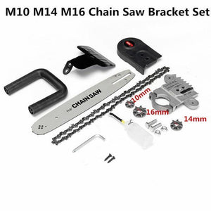 Electric Chainsaw Bracket Set For Angle Grinder