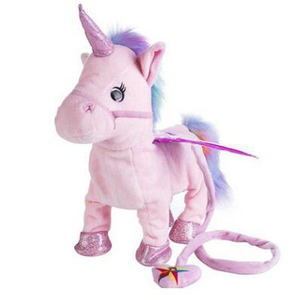 Singing and Walking Unicorn Plush Toy