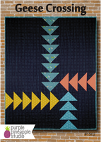 Purple Pineapple Studio - Quilt Pattern - Geese Crossing
