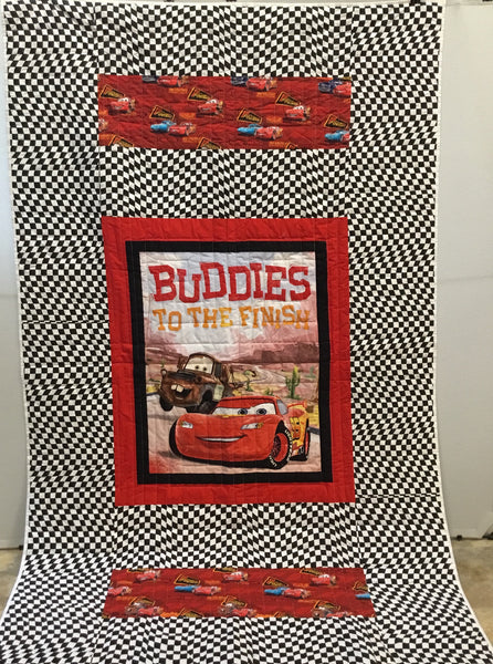Twin Quilt - Disney Cars #2