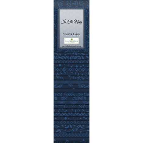 Wilmington Prints - In The Navy - Jelly Rolls (24 pk)