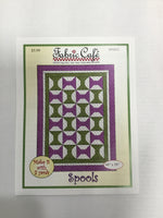 Fabric Cafe - Quilt Pattern - Spools