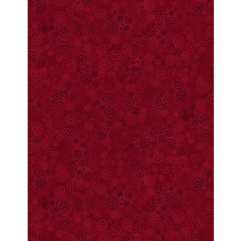 Wilmington Prints - Essential - Sparkles Burgundy