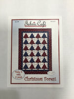 Fabric Cafe - Quilt Pattern - Christmas Forest