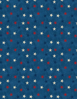 Wilmington Prints - Lake Life - Stars Allover Blue