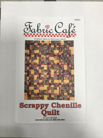 Fabric Cafe - Quilt Pattern - Scrappy Chenille Quilt