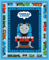 Riley Blake Designs - All Aboard with Thomas & Friends Blue - Panel