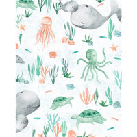 Wilmington Prints - Whaley Loved - Scenic White