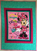 Panel Throw Quilt - Minnie Mouse #4