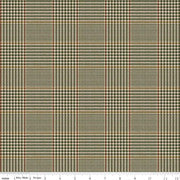 Riley Blake Fabrics - All About Plaids - Tweed Green