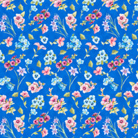 Blank Quilting - Papillon Parade - Small Floral Med. Blue