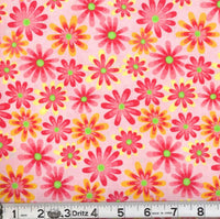 Marshall Dry Goods - Flower Power - Light Pink